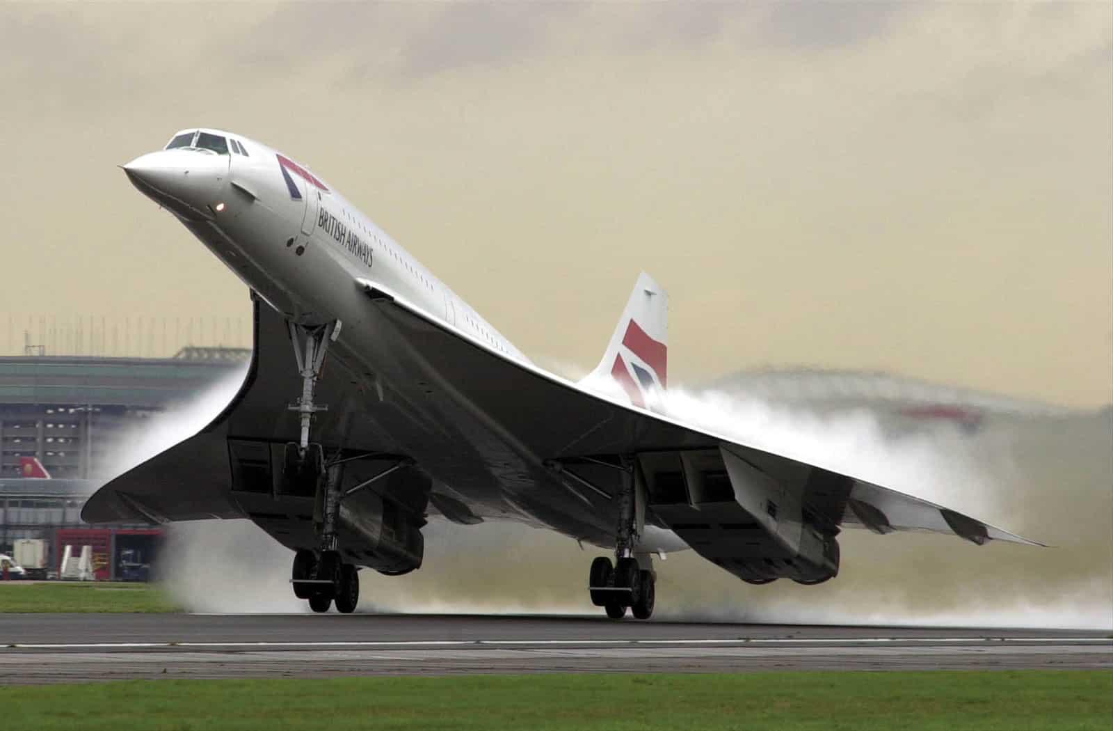 Concorde takes flight