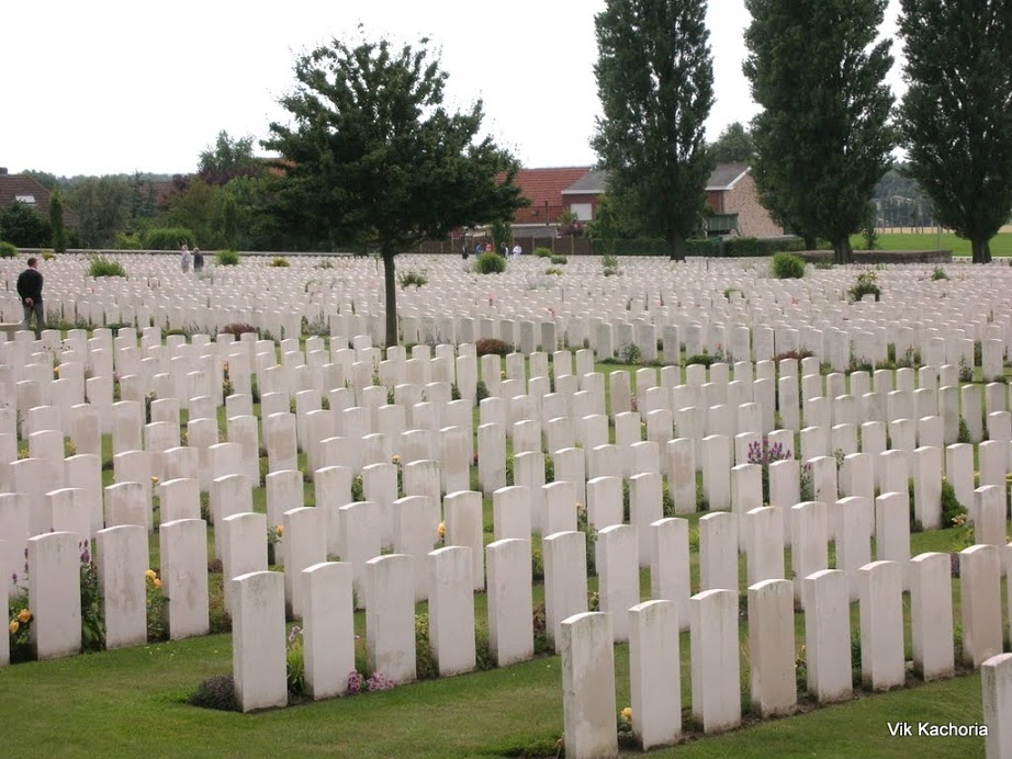 Battle of Ypres Cemetary, Belgium