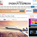 Indian Express August 23, 2014