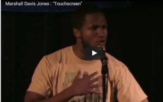 Marshall Davis Jones Touchscreen