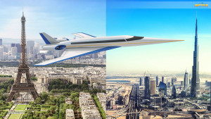 Spike S-512 Quiet Supersonic Flight Technology Enables Overland Flights With No Sonic Boom