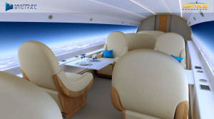 Spike S-512 Luxurious Seats & Great Views