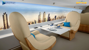 Spike S-512 - Your Luxury Office in the Sky