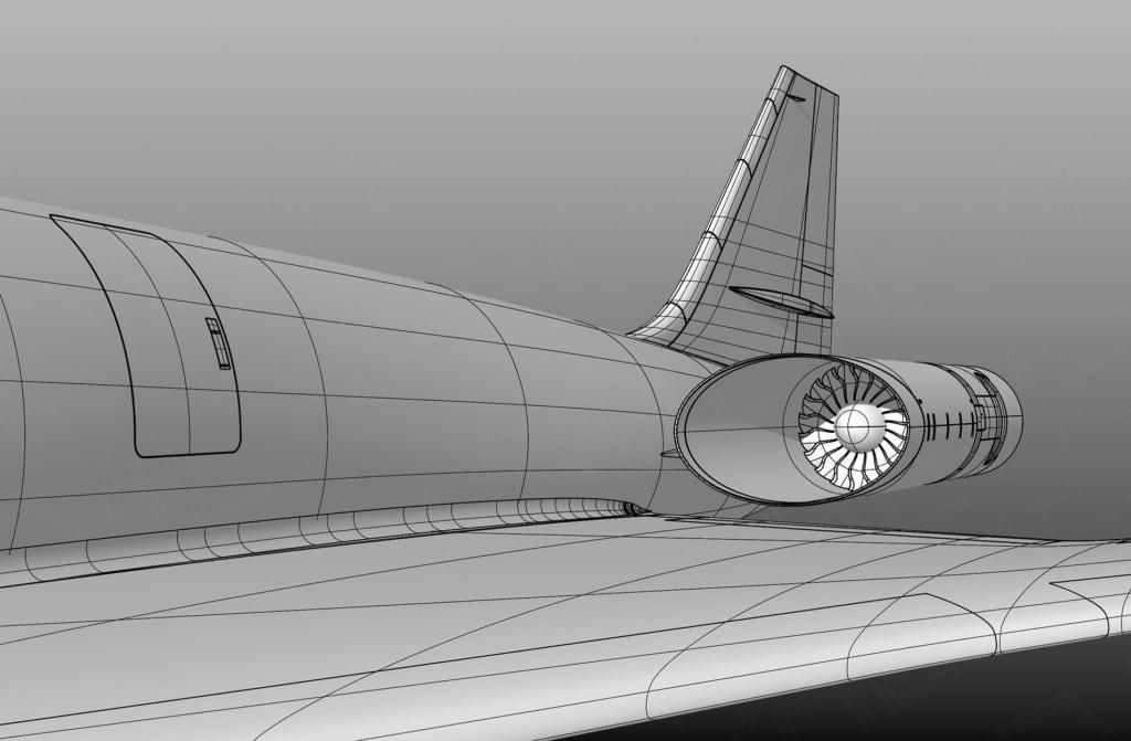 Spike S-512 engine design sketch