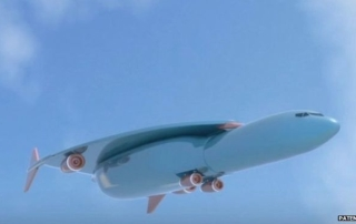 Airbus supersonic airliner concept