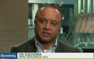 Bloomberg West TV Interview with Spike CEO Vik Kachoria