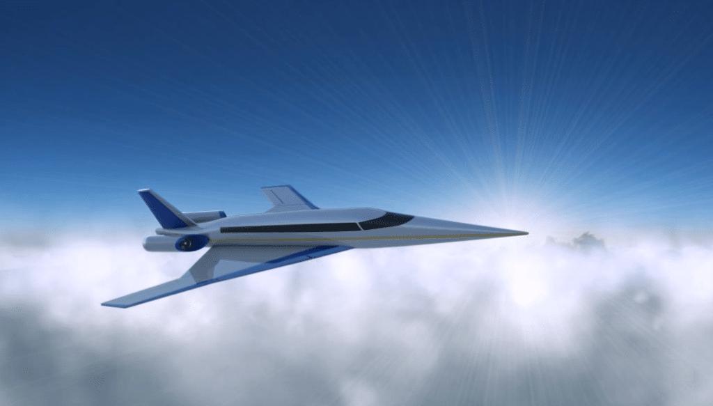 Rendering of the Spike S-512 in flight