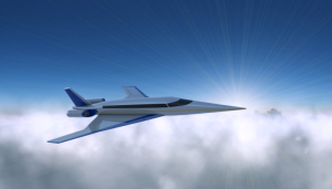 Rendering of the Spike S-512 in flight
